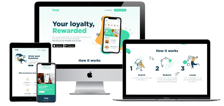 Looop App Website   Petsaal Technologies