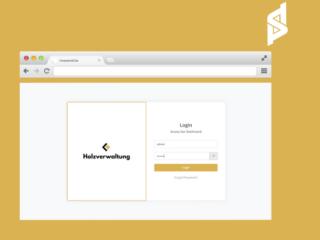 Wood Management German Web-App